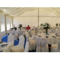 Buy cheap Aluminum Structure Wedding Decoration Tent , 200 People Wedding Party Tent from wholesalers