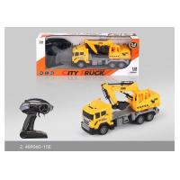 Wholesale 27 MHz Frequency Mini RC Remote Control Excavator Toy For Kids Role Play from china suppliers
