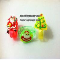 China Buy 2014 Christmas gift for friends LED silicone wristband with factory price for sale