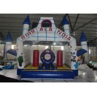 Quality Cartoon Style Inflatable Bouncer , Outdoor Used Commercial Inflatable Bouncers For Sale for sale