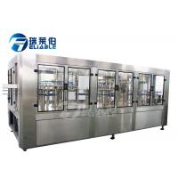 China PET Bottle Hot Production Juice Filling Machine Washer Filler Capper Stable With Operated on sale