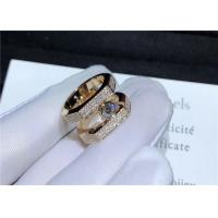 Wholesale 18K Pink Gold Messika Jewelry Diamond Paved For Wedding / Engagement from china suppliers