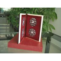 China Custom DVD Packaging Wooden Book For Mini Disc Packing CD DVD Packaging Box on sale