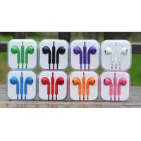 Wholesale Hot Earphone for Iphone, Ipad, Ipod with Volume control and Mic from china suppliers