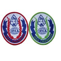 Wholesale Embroidered Custom Patches / Badges With Personalized Pattern For Clothing / Cloths from china suppliers