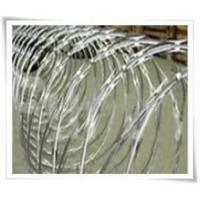China Cross Type Razor Barbed Wire on sale