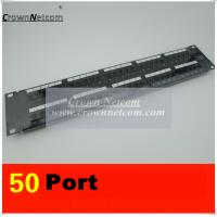 Wholesale RJ11 50Ports Voice Patch Panel 110 UTP Patch Panel Cabinet Rack 50Port Patch Panel from china suppliers