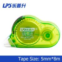 Wholesale OEM Plastic Green Colored Correction Tape Rubberized Grip Non Refillable from china suppliers