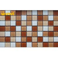 Wholesale Anti - Oxidation 3×3 Iridescent Glass Unique Mirror Mosaic Tile For Restaurant from china suppliers