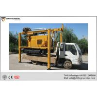 Wholesale Crawler Mounted Water Well Drilling Rig With Air Compressor / Mud Pump from china suppliers