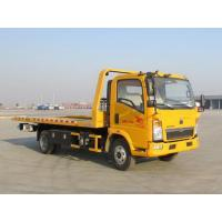 Wholesale Yellow Color Wrecker Tow Truck Wheelbase 3800 Mm 5085kg Curb Weight from china suppliers