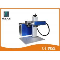 Wholesale Bird Rings Metal Laser Marker , Color Floor Type Portable Laser Marking Machine from china suppliers