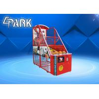Fun Exercise Arcade Basketball Game Machine For Shopping Mall Easy To Move for sale