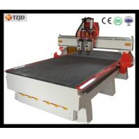 Wholesale China 3d furniture Wood Carving CNC Router machine with double heads from china suppliers