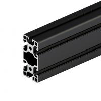 6063 Black Anodized High Quality Aluminium Alloy Extrusion Factory Supply Industrial Heat Sink for sale