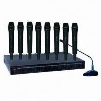 Wholesale 8 discrete channels UHF wireless system from china suppliers