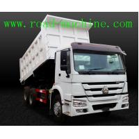 Wholesale Transport Blue / Yellow / Red HOWO 6 x 4 Dump Truck 25 ton ZZ3257N3647A from china suppliers