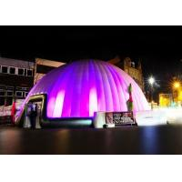 Wholesale Giant Novel Led Inflatable Dome Tent Customizd Lighting Inflatable Air Tent For Big Event from china suppliers