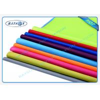 Wholesale Green Panton Matched PP Spunbond Non Woven , PPSB Non Woven Textile Packaging from china suppliers