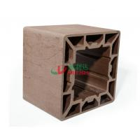 Wholesale High Density Wpc Profile 200 * 200mm , Plastic Composite Lumber Rotproof from china suppliers