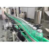 Wholesale Rotary Milk Tea / Juice / Coffee Drink Glass Bottle Filling Machine , Glass Bottle Packing Machine from china suppliers