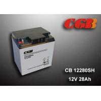 Wholesale 12V 28AH Energy Storage Battery , AGM Valve Non Spillable Lead Acid Battery from china suppliers