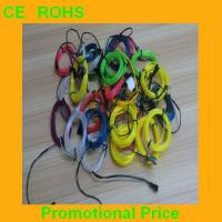 China generation 3 cheap cuttable neon wire el wire with mulit colors on sale