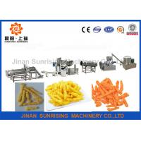 Wholesale Low Consumption Snack Food Production Line , Frying Kurkure Cheetos Nik Naks Machine from china suppliers