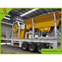 Wholesale Trailer Type Mobile Crushing Plant from china suppliers