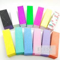 Wholesale Disposable Sponge  Fingernail Buffer Block Customized  Color 6 Ways 4 Ways from china suppliers