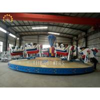China Family Crazy Dance Ride 13m * 13m Space Size , Breakdance Amusement Ride for sale