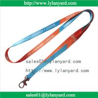 Wholesale 10mm Dye Sublimation Print Custom Made Lanyard and ID Tag from china suppliers