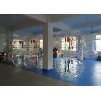 China Durable TPU Inflatable Bubble Soccer Human Size Bubble Balls For Adults on sale
