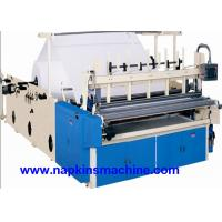 Wholesale Recycled Toilet Paper Making Machine With Color Printing And Rewinding Machine from china suppliers