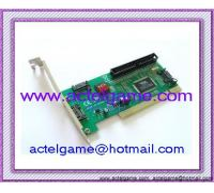 China Xbox360 3 SATA & 1 IDE to PCI IO Card Adapter VIA microsoft Xbox360 repair parts on sale