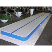 Quality Customized Air Track Gymnastics Mat , Inflatable Air Tumble Track With Repair Kit for sale