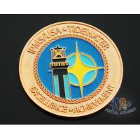 Quality Iron Die Strucking Custom Challenge Coins Promotional Items Cut Edge for sale
