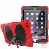 Wholesale Full Protective Housing Stand Hybrid Rubber Kidsproof Case Mobile Phone Case Cover For IPad 9.7