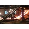Buy cheap PLC Control Billet Continuous Casting Machine , Continuous Casting Of Steel Billets 200×200 mm from Wholesalers