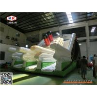Buy cheap Eco - Friendly Commercial Inflatable Dry Slide For Giant Sliding Games / Family from wholesalers