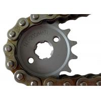 Wholesale Suzuki Motorcycle Sprockets And Chains 1045 1023 Steel Material , Not Easily Broken from china suppliers