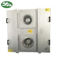 Wholesale Class 100 FFU Fan Filter Unit Large Air Volume Galvanized Steel Material AC 220V 50 Hz from china suppliers