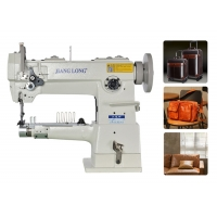 Wholesale 47.5mm Cylinder Bed 260×103mm Compound Feed Sewing Machine from china suppliers