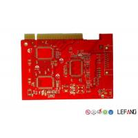 Wholesale Red Solder Printed Circuit Multilayer PCB Board With ISO 9001 Certification from china suppliers