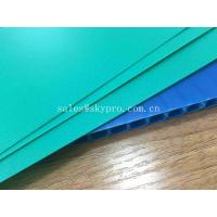 China Waterproof Flute Plastic PP Hollow Sheets Printed Sign Polypropylene Protection on sale