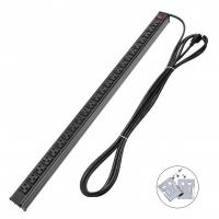 Wholesale Metal 24 Way Multi Outlet Power Strip With 15' Ultra Long Extension Cord American from china suppliers