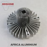 aluminum stamping extrusion CNC cutting anodized cooling heatsinks for cars, electronics for sale