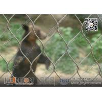 Wholesale 316L Stainless Steel Wire Cable Animal Cage for Zoo Enclosure | China Zoo Mesh Factory from china suppliers