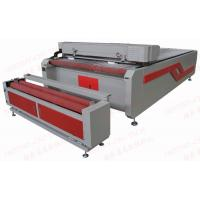 Quality Felt roll laser cutting DT-1830 Large bed auto feeding fabric CO2 Laser cutting machine for sale
