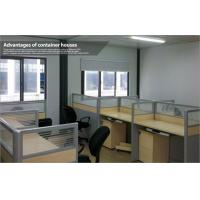 Buy cheap 50mm EPS Panel Mobile Office Containers House for Warehouse or Work Shop from wholesalers